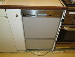 交換した食洗器